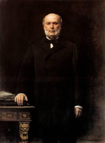 Bonnat Portrait of Jules Grevy